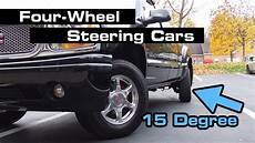 cars with all wheel steering 10 uncommon 4 wheel steering cars you may not about