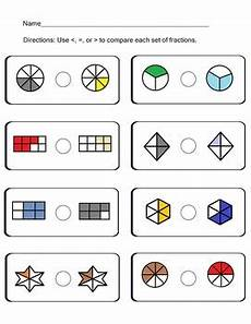 compare fractions worksheets common core ccss math content