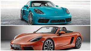 Porsche 718 Boxster And Cayman Are Now Official In