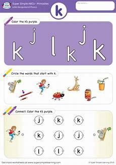 letter k recognition worksheets 24411 letter recognition phonics worksheet k lowercase simple