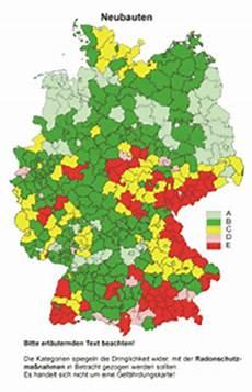 radonbelastung bayern karte radon info de informationen zum thema radon