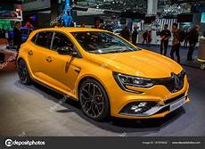 New 2018 Renault Megane Rs Car Stock Editorial Photo