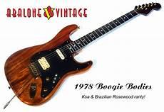 Boogie Bodies Guitar 1978 Koa Rosewood Neck Serial Number