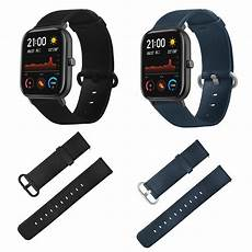 Bakeey Canvas Leather Band Amazfit by Bakeey Sided Color Leather Band For Amazfit