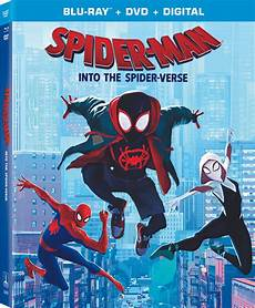 spider into the spider verse the bluray