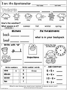 seasons and weather worksheets 2nd grade 14864 morning work freebie second grade august packet silly in second 2nd grade classroom second