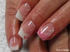 rosa nägel mit glitzer rosa glitzer n 228 gel geln 228 gel