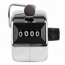 Tally Counter Stainless useful tally counter clicker 4 digit mechanical