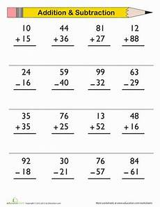 3rd grade math sheets subtraction digit addition and subtraction worksheet