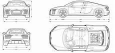 audi r8 2016 blueprint download free blueprint for 3d modeling tech econ audi r8 2016