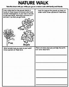 nature and animals worksheets 15101 take the nature walk page with you as you go on a hike with family or friends mfw adventures