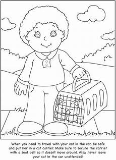 animals and their coloring pages 17201 how to care for your cat a color learn guide for dover publications coloring pages