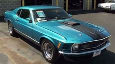 1970 ford mustang mach 1 351 cleveland v8 fastback youtube