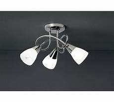 buy argos home curio 3 light glass opal ceiling light chrome ceiling lights ceiling lights