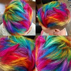 bright hair colors on pinterest bright hair rainbow hair and rainbow hair short rainbow hair