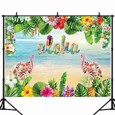 3x5ft 5x7ft Vinyl Baby Shower Deer by Backdrops 3x5ft 5x7ft Vinyl Hawaii Flamingo