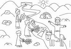 Ausmalbilder Ostern Bibel Palmsonntag Ausmalen Palmsonntag Ausmalen Und Ostern