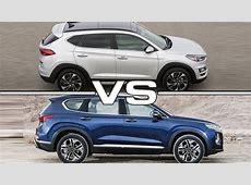 2019 Hyundai Tucson vs 2019 Hyundai Santa Fe   YouTube