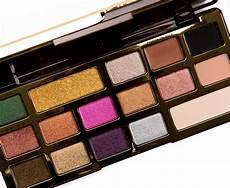 Faced Chocolate Gold Bar sneak peek faced chocolate gold eyeshadow palette