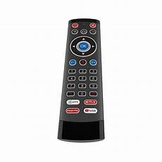 Wireless Backlit Gyroscope Voice Remote by T1 Max 2 2 4g Wireless Backlit Gyroscope Voice Remote