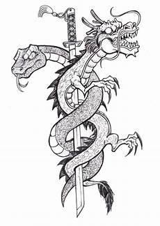 Ausmalbilder Erwachsene Drachen Therapy Coloring Page Tattoos 3