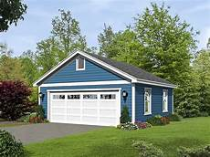 house plans with detached garages 2 car detached garage plan with over sized garage door