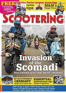 magasin scooter scootering june 2016 preview by mortons media ltd