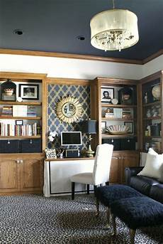 good use of paint with oak trim martha stewart wrought