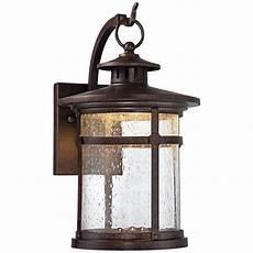 callaway 11 1 2 quot high rustic bronze led outdoor wall light 5x185 ls plus