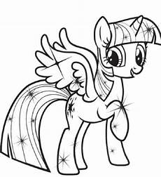 my pony coloring pages princess twilight sparkle