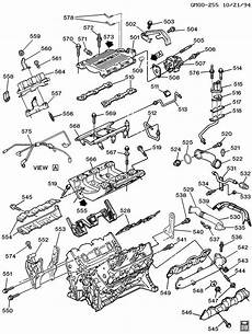 1994 buick century engine diagram engine asm 3 1l v6 part 5 manifolds fuel related parts