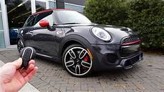 2019 mini jcw review 2019 mini cooper works hardtop start up exhaust