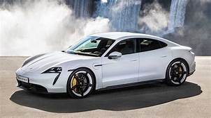 $150000 Porsche Taycan EXPLODES Whilst Parked In Owners