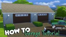 4 Garage Doors by The Sims 4 How To Garage Tutorial