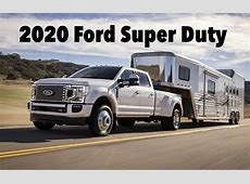 New 2020 Ford Super Duty Gets More Diesel Power and a new