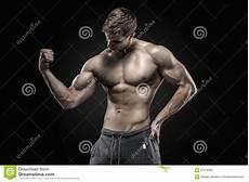 erstaunlicher muskul 246 ser mann der perfekte abs schultern