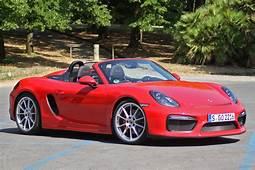 2016 Porsche Boxster Spyder First Drive W/video  Autoblog