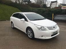 toyota avensis 2010 toyota avensis tr d 4d 2 0 diesel estate white 2010 year in bradford west