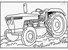 Gratis Malvorlagen Traktoren Traktor Bilder Zum Ausmalen