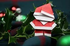origami weihnachtsmann