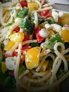 Spaghetti Mit Gemüse - seelenfutter spaghetti salat mit feta und gem 252 se