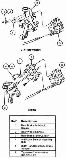 repair anti lock braking 1999 ford taurus interior lighting 1990 ford country squire 5 0l fi ohv 8cyl repair guides anti lock brake system speed
