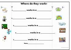 14 free esl workplace worksheets