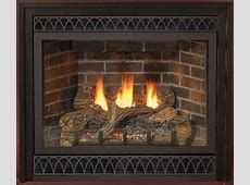 Deluxe 36 Inch Direct Vent NG Millivolt Fireplace with Blower