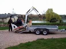 Wessex Wg126 Remorques 2 6 Tonne Pour Mini Pelle