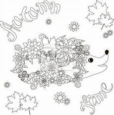 Malvorlagen Igel Kostenlos Juni Ausmalbild Igel Im Herbst