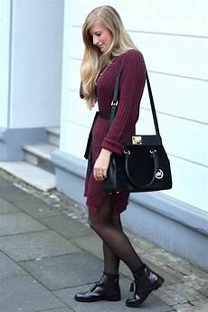 Herbst Wollkleid Mit Zara Boots Modeblog Deutschland