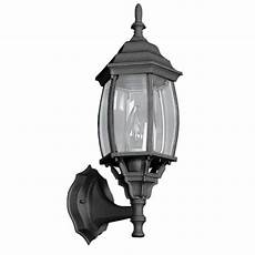 sunset wolter 1 light black outdoor wall lantern f7815 31 the home depot