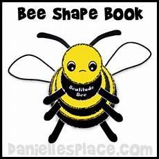 worksheets for kindergarten free 20286 bee shape book craft for from www daniellesplace bee activities bee crafts bee