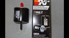 Installing A 1979 1997 Mustang K N High Flow Fuel Filter